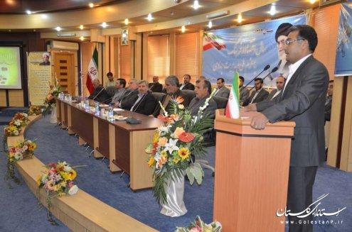 نشست استاندار گلستان با اعضای اتحادیه انجمن اسلامی استان گلستان