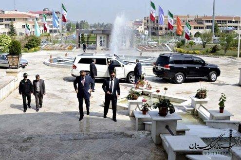 گزارش تصویری دیدار استاندار گلستان با سفیر قزاقستان