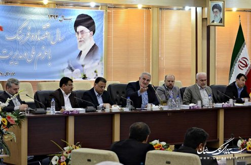گزارش تصویری جلسه شورای برنامه ریزی استان گلستان