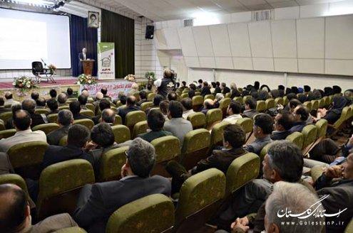 گزارش تصویری همایش تجلیل از تلاشگران و خیرین عرصه سلامت استان با حضور استاندار گلستان