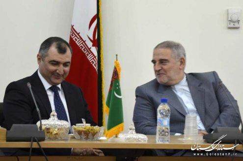دیدارهای استاندار گلستان با سفرای ترکمنستان و قزاقستان