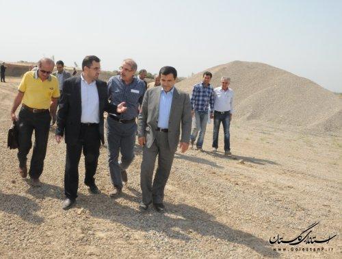 بازدید نماینده مردم گرگان و آق قلا در مجلس شورای اسلامی از سد آقدکش