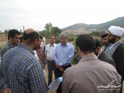 بازديد معاون وزير راه و شهرسازي از راه هاي روستايي گلستان