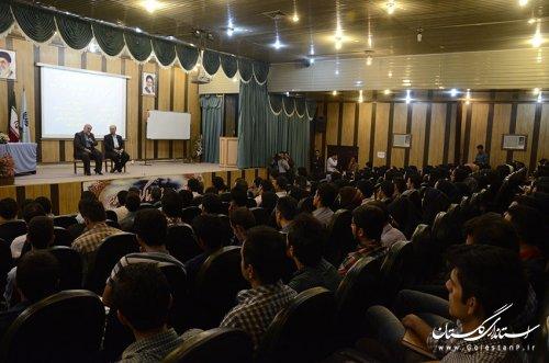 بازدید استاندار گلستان از مرحله اول آموزش طرح کارورزی مشاغل دانش بنیان استان