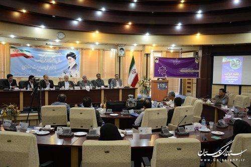 استاندار گلستان : در هفته دولت 527 پروژه عمرانی ، اقتصادی و اشتغالزا افتتاح می شود