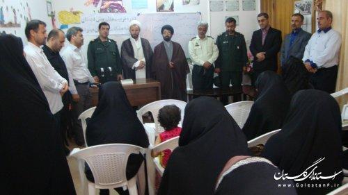 بازدید از موسسه قرآنی مشکات در مینودشت