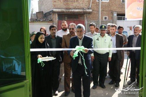 افتتاح هشتمین پایگاه خدمات اجتماعی استان در شهرستان آزادشهر
