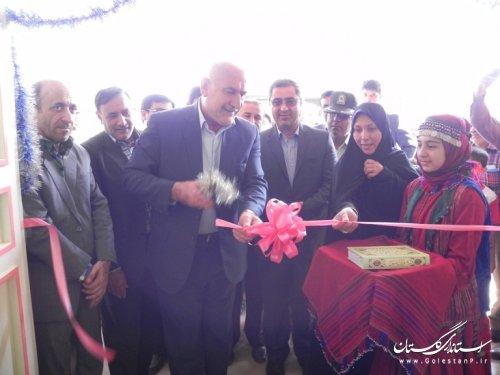 افتتاح متمرکز 39پروژه عمرانی و اقتصادی مینودشت با حضور معاون استاندار