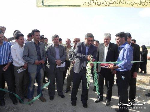 افتتاح مرغداری گوشتی 40 هزار قطعه ای درمینودشت