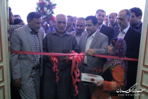 افتتاح سالن های ورزشی روستاهای قلی آباد و شموشک سفلی شهرستان گرگان