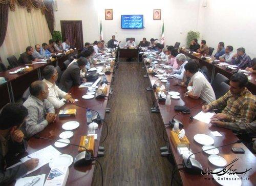 جلسات توجیهی و فنی کمیته های ستاد سرشماری کشاورزی استان گلستان برگزارشد