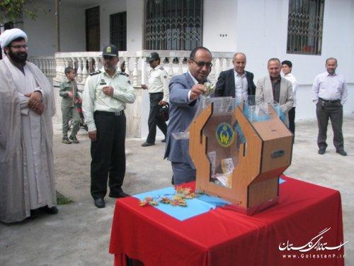 جشن عاطفهها در مدارس علی آباد کتول برگزار شد