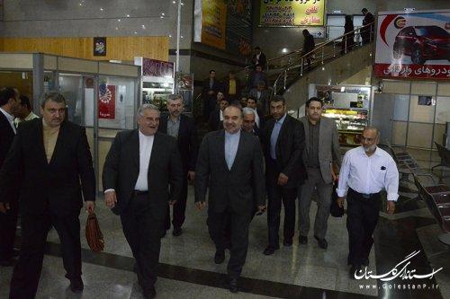 استقبال استاندار گلستان از رئیس سازمان میراث فرهنگی، صنایع دستی و گردشگری