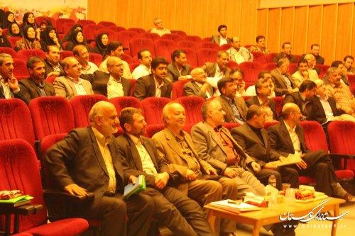 همایش تحت عنوان رضایتمندی کار کنان در بنیاد شهید استان گلستان برگزار گردید