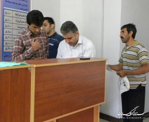 بازدید کارشناسان اداره کل اموراتباع و مهاجرین خارجی از دفاتر کفالت گرگان