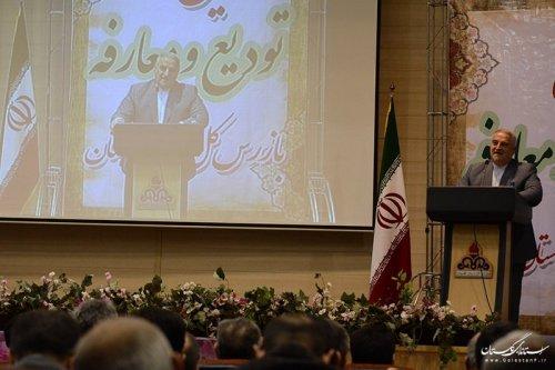 کلیپ مراسم تودیع و معارفه رئیس سازمان بازرسی استان با حضور استاندارگلستان