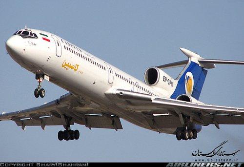 برقراری پروازهای هواپیمایی کاسپین در فرودگاه گرگان