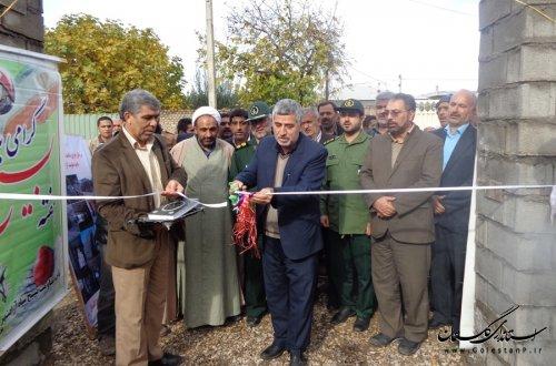 خانه عالم روستای ازدارتپه بخش مرکزی آزادشهر افتتاح شد