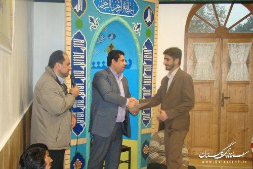تجلیل از بسیجیان فعال در اداره کل میراث فرهنگی،صنایع دستی و گردشگری استان