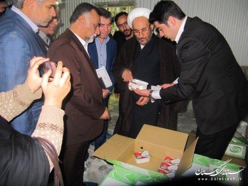 باحضور دستار ویژه رییس جمهور در امور اقوام کارخانه پنیر سازی آشوراده افتتاح شد