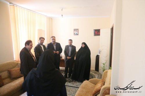 بازدید مدیران سازمان بهزیستی کشور از مرکز بازپروری گرگان