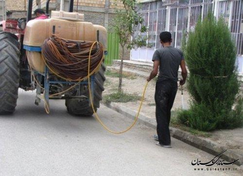طرح پاكسازي محيط روستاي مهتركلاته از توابع شهرستان کردکوی انجام شد