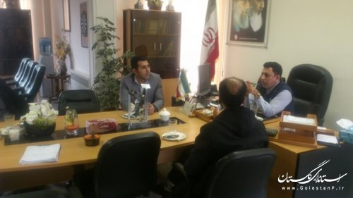 دیدار دهیاران بخش مرکزی آزادشهر با مدیرکل ثبت احوال استان