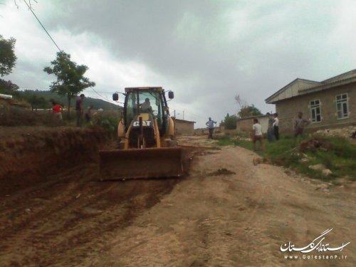 روستای قدونه سفلی آماده اجرای طرح هادی می باشد