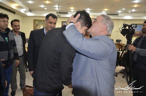 دیدار سردار آزمون با استاندار گلستان