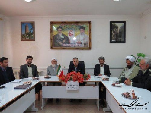 تاکید فرماندار شهرستان آق قلا در برگزاری باشکوه جشن نیکوکاری
