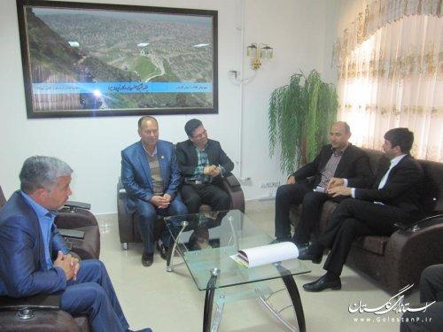 فرماندار کلاله با سرپرست انجمن گورش کشور دیدار کرد