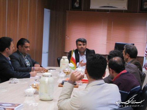 مشخصات فنی پروژه روشنایی محور سه راهی پلیس راه تا شهر رامیان بررسی شد