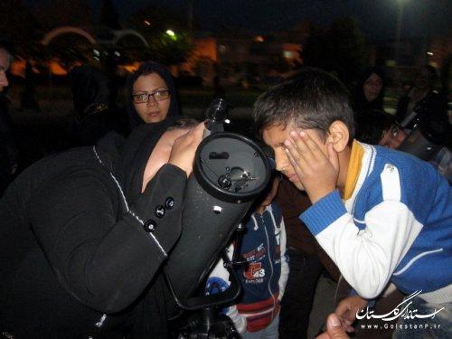 اعضای کودک و نوجوان مراکز فرهنگی هنری استان به فضا سفر کردند