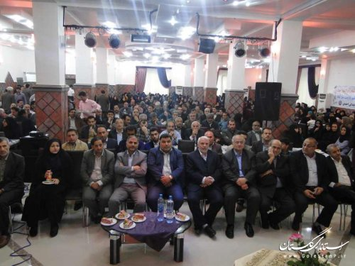 همایش تجلیل از مقام معلم در بندرگز برگزار شد