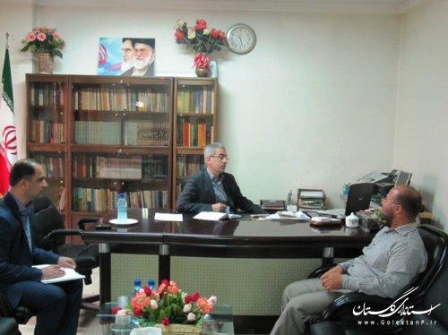 دیدار هفتگی مردم با فرماندار کردکوی