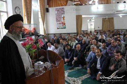 برگزاری مراسم بزرگداشت هفته جهاد کشاورزی در سازمان جهاد کشاورزی استان گلستان