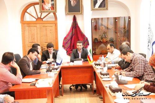 برگزاری نشست آموزشی و توجیهی نمایندگی های شهرستانی میراث فرهنگی گلستان