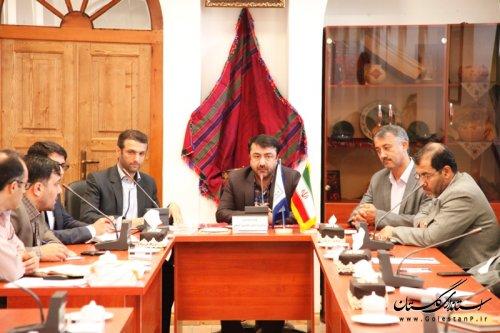 جلسه ساماندهی و ارتقاء خدمات سفرتابستانه درگلستان برگزارشد