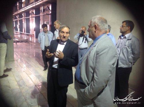 بازدید استاندار گلستان از مرکز بازیافت زباله و کارخانه زباله سوز در تهران