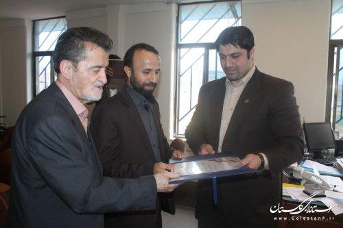 دیدار نائب رئیس فدراسیون نجات غریق کشور با مدیرکل ورزش و جوانان گلستان
