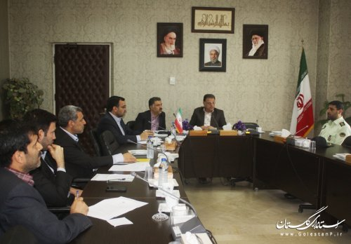 اولین جلسه کارگروه استقرار و نظارت بر سامانه های هوشمند نظارتی استان تشکیل شد