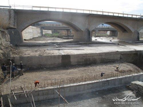 ترميم پل آق امام در محور آزادشهر – مينودشت