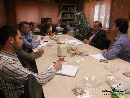 تشکیل کمیسیون کارگری شهرستان رامیان