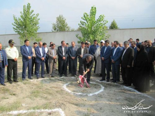 عملیات اجرایی ساخت درمانگاه تخصصی تامین اجتماعی بندرگز آغاز شد