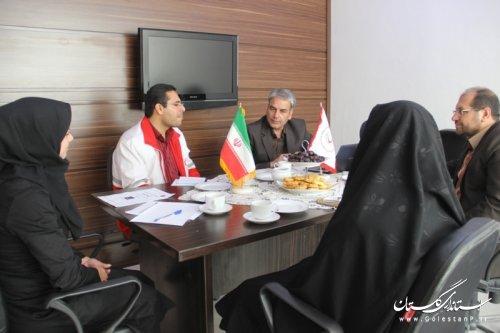 نشست هماهنگی سومین المپیاد استانی دادرس در گلستان