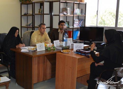 مصاحبه استخدامی مربیان حق التدریس آموزش فنی وحرفه ای گلستان برگزار شد