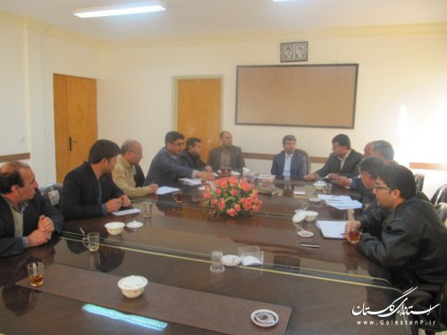 دوازدهمین جلسه ستاد انتخابات حوزه انتخابیه کلاله برگزار شد