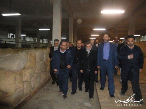 حضور مدیرعامل شرکت دخانیات ایران درعلی آباد کتول