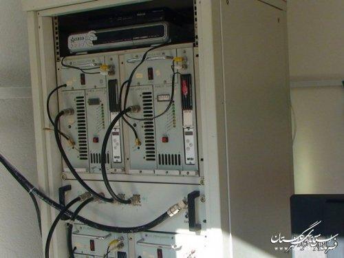 افتتاح فرستنده دیجیتال در  روستاهای بخش چشمه ساران