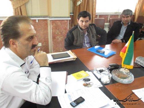 تاکید سرپرست فرمانداری ترکمن بر اجرای کامل طرح سامانه کاردکس نانوایان